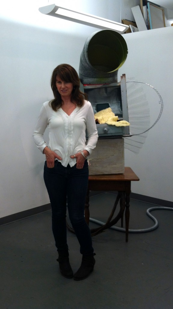 Donna Cleary in her studio. www.donnacleary.net