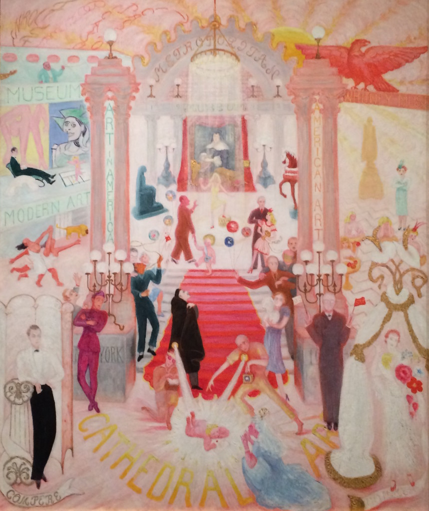 Florine Stettheimer The Cathedrals of Art 1942